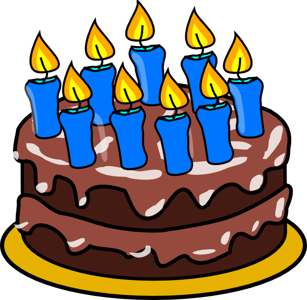 Cake Clip Art Candles : 9 Candle Cake Clip Art at Clker.com - vector clip art ...