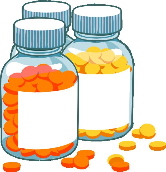 blank pill bottles clip art at clker com vector clip art online rh clker com