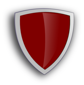 Maroon Shield Clip Art