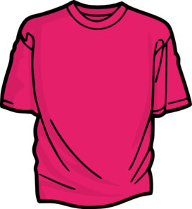 pink t shirt clip art at clker com vector clip art online royalty rh clker com t shirt clip art images t shirt clipart black and white