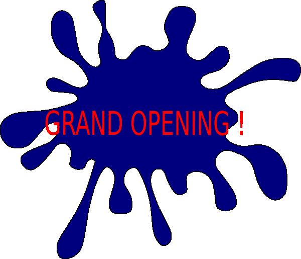 splash grand opening clip art at clker com vector clip art online rh clker com grand opening invitation clip art grand opening clipart free download