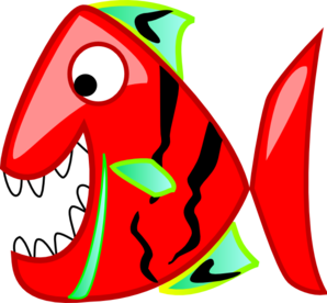 Red Fish Clip Art at Clker.com - vector clip art online, royalty ...