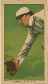 [wid Conroy, Washington Nationals, Baseball Card Portrait] Clip Art