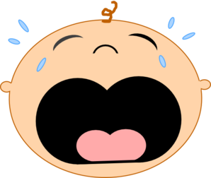 baby crying 2 clip art at clker com vector clip art online rh clker com crying baby cartoon clipart crying baby face clipart