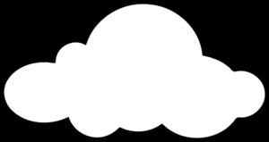 white cloud clip art at clker com vector clip art online royalty rh clker com clouds clipart background clouds clipart pictures