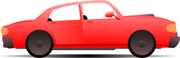 red car clip art at clker com
