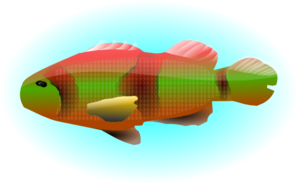 Fish In Water Clip Art
