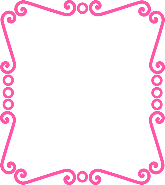 scrolly frame pink clip art at clker com vector clip art celtic clip art photos celtic clip art to print