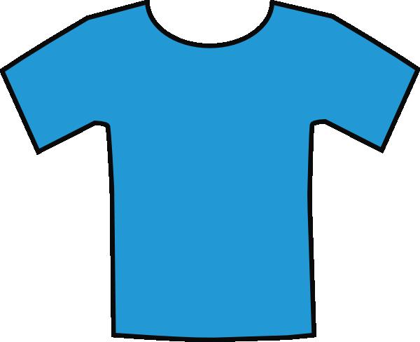 blue t shirt clip art at clker com vector clip art online royalty rh clker com clip art shorts clipart short hair