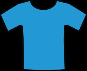 blue t shirt clip art at clker com vector clip art online royalty rh clker com clip art shirt clipart short hair