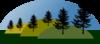 Hill Scenery Clip Art