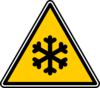 Warning - Snowflake Clip Art