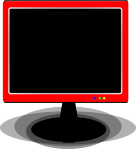 Red Cover Tv Clip Art