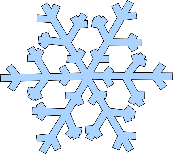 Green Snowflake Clip Art at Clker.com - vector clip art ...