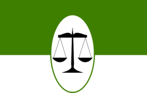 Scale Of Justice - Green Clip Art