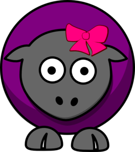 Sheep Cartoon Clip Art