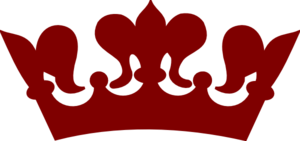 Maroon Crown Clip Art