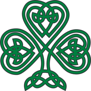 shamrock clip art at clker com vector clip art online royalty rh clker com irish clipart free irish clip art download free