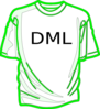 Shirts-green Clip Art