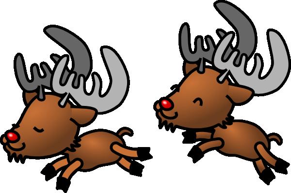 Kerstman, arreslee, en, rendier Clipart | k5153202 | Fotosearch