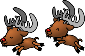 Cartoon Reindeer Clip Art