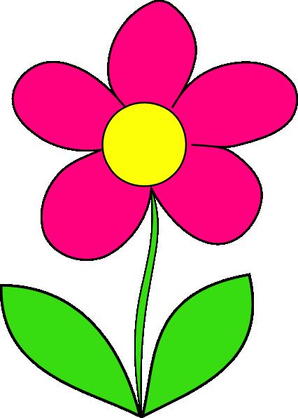 Pink Flower Clip Art at Clker.com - vector clip art online ...