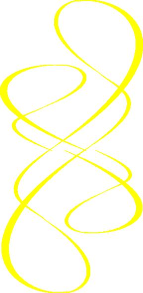 yellow swirl wind clip art at clkercom vector clip art