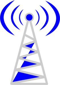 Telecom Tower123 Clip Art