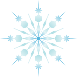 Snowflake Clipart Transparent Background | New Calendar ...