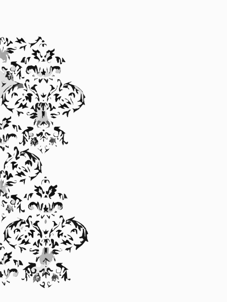Damask Swirl Clip Art at Clker.com - vector clip art online ...