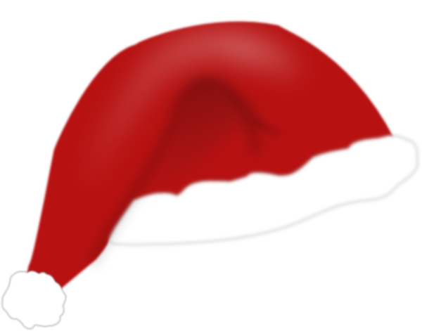 father christmas hat clipart - photo #22