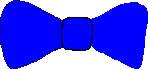 Bow tie blue. Bowtie clip art at