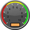 Speedometer Withouth Text Clip Art