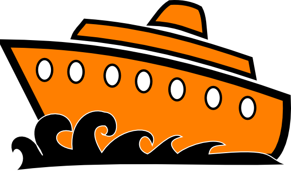 free clip art cartoon cruise ship - photo #4