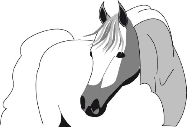 horse head clip art clip art horse head drawing clip art horse head heart