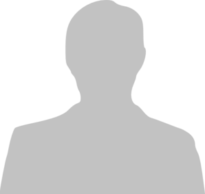 Grey Silhouette Of Man Clip Art