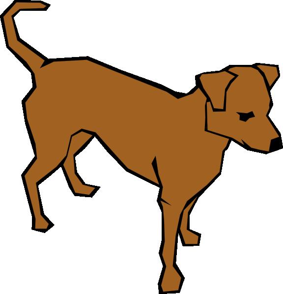Brown Clip Art Dog Clip Art at Clker.com - vector clip art ...