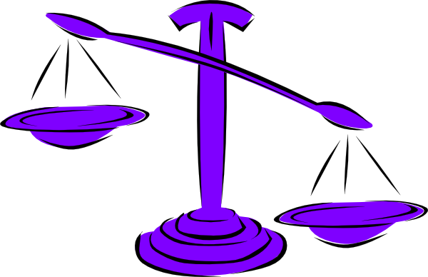 Unbalanced Scale Right clip artUnbalanced Scale Of Justice Vector