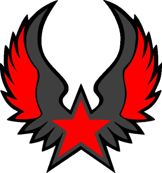 Red Star Emblem Clip Art at Clker.com - vector clip art ...