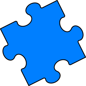 blue puzzle piece clip art at clker com vector clip art online rh clker com puzzle pieces clipart black and white puzzle pieces clip art free