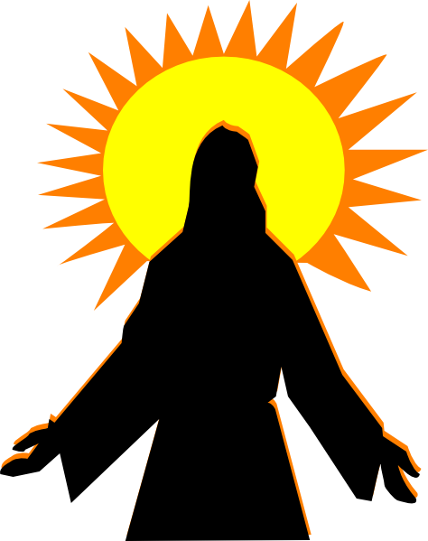 faith arise sunrise clip art at clker com vector clip art online rh clker com sunrise clipart png sunrise clipart black and white