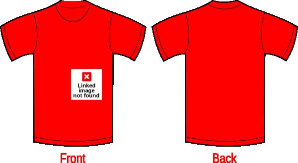 Plain T Shirt Design Template