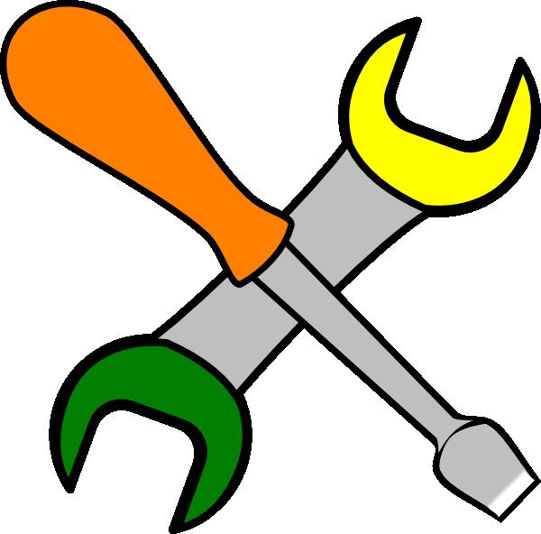 Coloured Tools Clip Art at Clker.com - vector clip art ...
