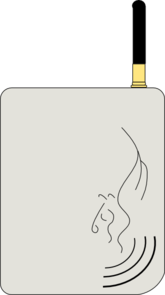 Gprs Communicator Clip Art