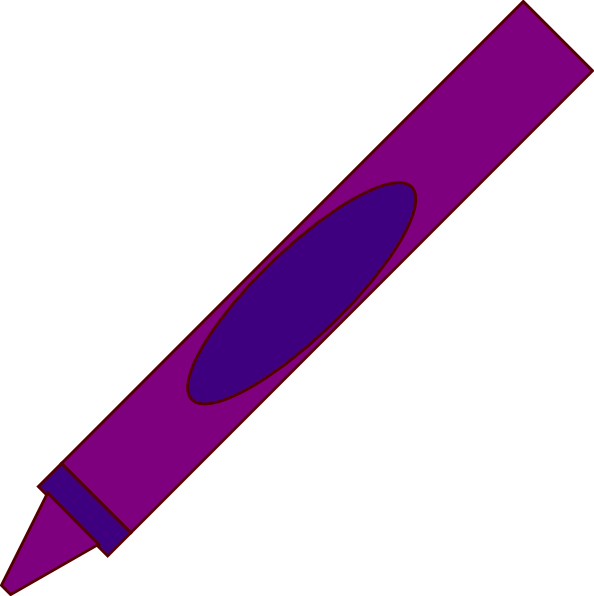 Crayon Clip Art At Clkercom Vector Online Royalty Free amp Public Domain