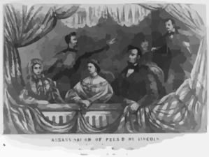 Assassination Of President Lincoln Clip Art