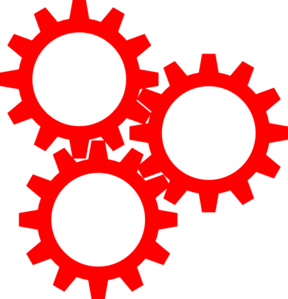 Gears Inter Lock Clip Art