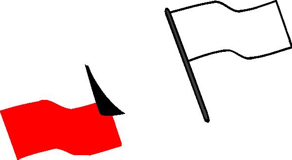 Flag outline. Clip art at clker