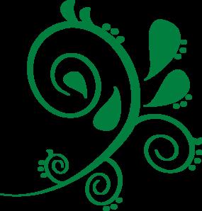 green swirl clip art at clker com vector clip art online royalty rh clker com clip art swirly christmas tree clip art swirl borders