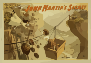 Wm. Calder S Spectacular Production, John Martin S Secret By Sutton Vane. Clip Art
